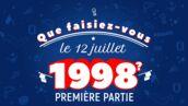 12 juillet 1998 : Mimie Mathy, Maître Gims, Kendji Girac, Ingrid Chauvin, Denis Brogniart... Ils se souviennent du sacre de l'équipe de France (VIDEO)