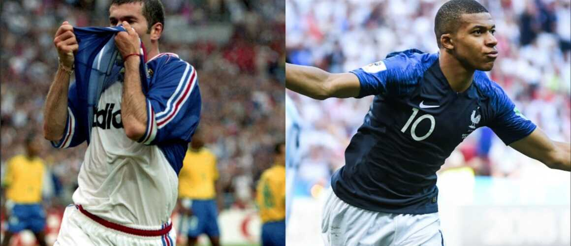 Coupe du monde france 98 france 2018 huit similitudes frappantes photos - Joueur coupe du monde 98 ...