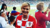 France/Croatie : qui est Kolinda Grabar-Kitarovic, la supportrice numéro un des Croates ? (VIDEO)