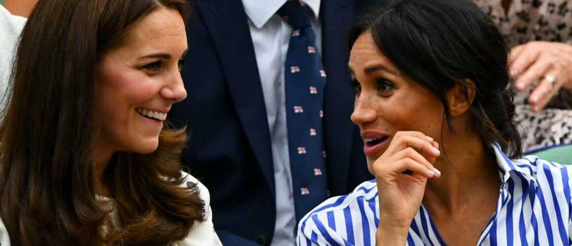 Complices, Meghan Markle et Kate Middleton s'éclatent à ...
