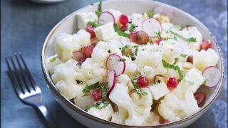 Salade de chou-fleur, feta et grenade : une recette estivale rapide à préparer