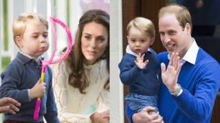 Bon anniversaire prince George ! Retour sur ses 5 premières années (PHOTOS)