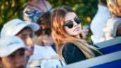 Thylane Blondeau supportrice de charme à St-Tropez devant un champion du monde (PHOTO)