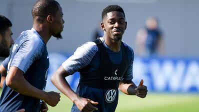 Quand une immense star brésilienne pose avec l'attaquant des Bleus, Ousmane Dembélé ! (PHOTO)