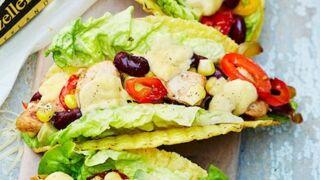 Tacos au poulet mariné et à l'Appenzeller : la recette mexicaine facile