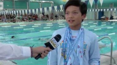 article video. Sport. Natation   un enfant de 10 ans ... 15a506efc4f