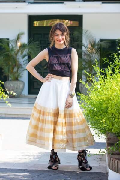 Angela Rozas Saiz est une blogueuse réputée et sera la marraine de la saison !