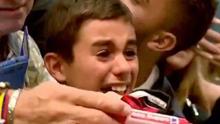 Un enfant dans un état second face à son idole, Lionel Messi (VIDEO)