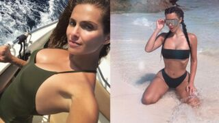 Instagram : Clara Morgane divine en maillot de bain, Kim Kardashian bling-bling à la plage... (PHOTOS)