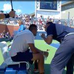 US open de tennis : Un arbitre encourage Nick Kyrgios, son adversaire Pierre-Hugues Herbert perd et est furieux ! (VIDEO)