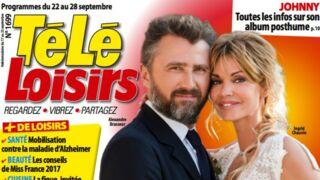 A la Une de Télé-Loisirs : toutes les coulisses du mariage d'Alex et Chloé dans Demain nous appartient