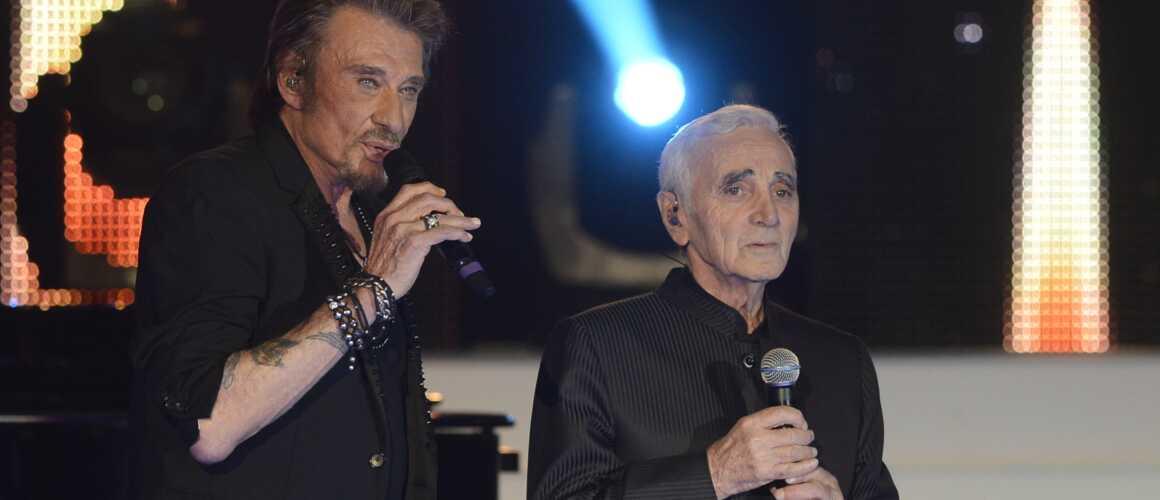 charles aznavour sa fa on tr s personnelle de faire son deuil apr s la mort de johnny. Black Bedroom Furniture Sets. Home Design Ideas