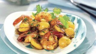 Curry de crevettes aux mirabelles : la recette rapide et originale