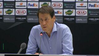 Ligue Europa : après la défaite l'OM, Rudi Garcia s'emporte contre l'arbitrage (VIDEO)