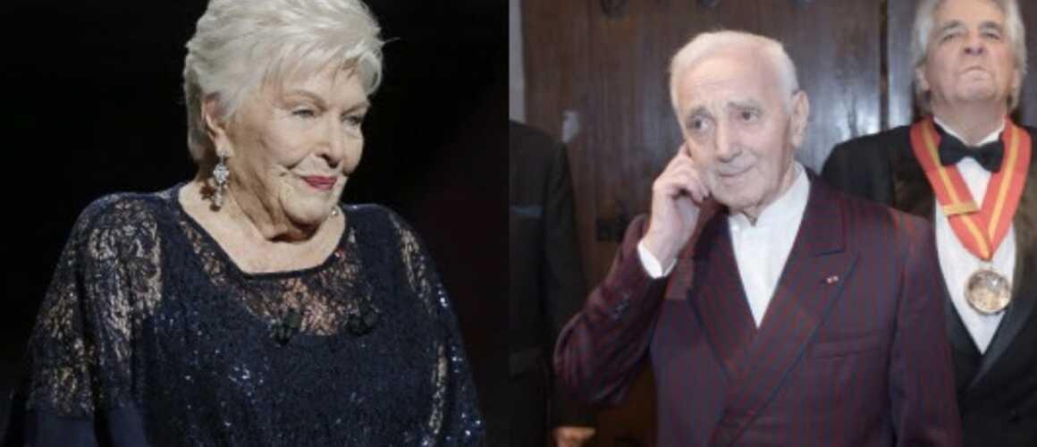 Mort de Charles Aznavour : en larmes, Line Renaud réagit à la disparition du chanteur (VIDEO)