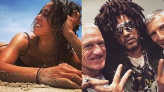 Instagram : Alice Belaïdi au soleil, le selfie de Nagui, Didier Deschamps et Lenny Kravitz... (PHOTOS)