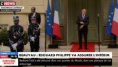 Le (gros) moment de solitude de Gérard Collomb avant sa passation de pouvoir avec Édouard Philippe (VIDEO)