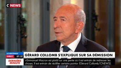 """Gérard Collomb revient sur sa passation de pouvoir jugée """"humiliante"""" par la presse et dément toute brouille avec Edouard Philippe (VIDEO)"""