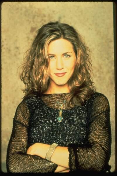 """Tant que vous ne lui dites pas que vous étiez """"en pause"""", l'inégalable Rachel de Friends sera charmante pour une soirée sous le signe de  l'amour"""