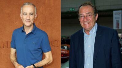 """Gilles Bouleau affiche son soutien à Jean-Pierre Pernaut, récemment opéré d'un cancer de la prostate : """"Je t'embrasse"""""""