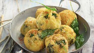Boulettes de pomme de terre et crème d'épinards au parmesan : une recette végétarienne rapide