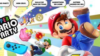 Super Mario Party revient en force sur Switch (VIDEO)