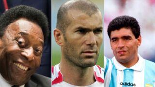Etes-vous plutôt Pelé, Maradona, Zidane ou Ronaldo ? Faites le test !