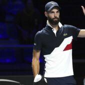 Benoit Paire arbore un nouveau look improbable au tournoi de Bercy (photo)