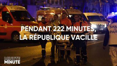 Minute par minute (W9) : les attentats du 13 novembre retracés dans un documentaire, trois ans après le drame (VIDEO)
