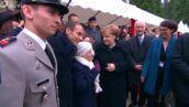 Cérémonies du 11 novembre : une spectatrice centenaire confond Angela Merkel avec... Brigitte Macron ! (VIDEO)