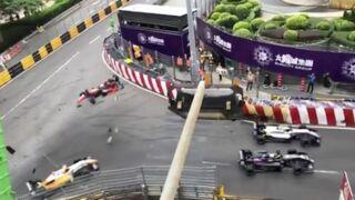 Abominable accident de Formule 3 sur le circuit de Macao (VIDEO) (Mise à Jour)