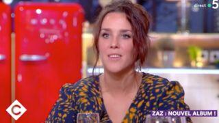C à vous (France 5) : le joli cadeau de Zaz qui a fait la joie d'Anne-Elisabeth Lemoine et de toute l'équipe