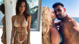 Instagram : Emily Ratajkowski n'a pas froid en bikini, Britney Spears amoureuse... (PHOTOS)