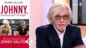 """""""C'est Johnny qui a pris les décisions"""" : Pierre Billon prend la défense de Laeticia Hallyday dans C à vous (VIDEO)"""