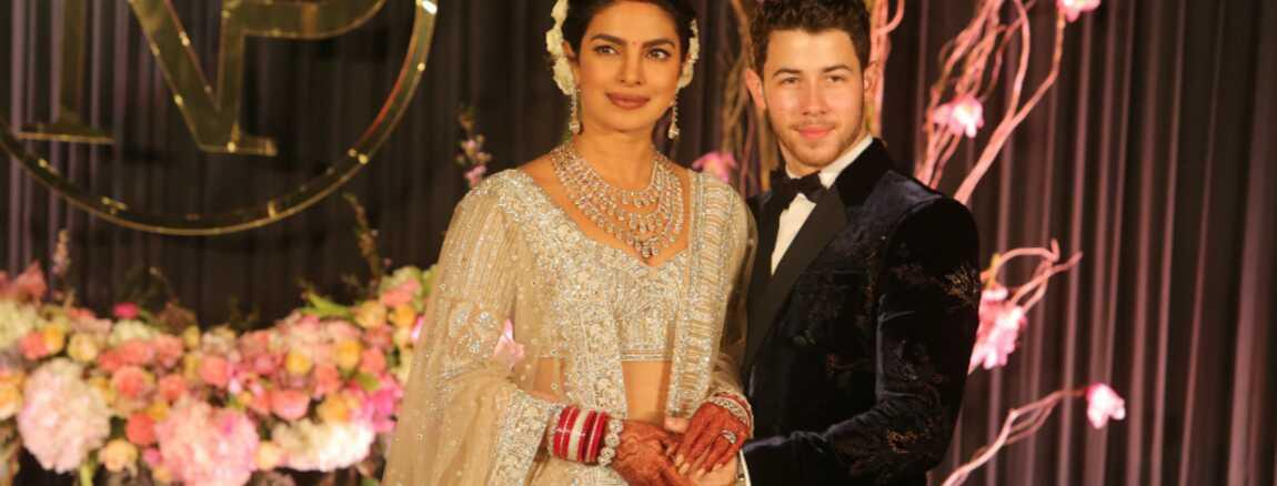 Priyanka Chopra resplendissante à sa fête de mariage avec Nick Jonas  (PHOTOS)