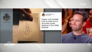 Armie Hammer : l'hilarant et très osé dessin de sa fille pour représenter Paris (VIDEO)