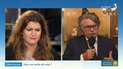 """""""Si vous arrivez à la faire taire, bravo !"""" : échange explosif entre Gilbert Collard et Marlène Schiappa au sujet des gilets jaunes (VIDEO)"""