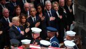 Obsèques de George W. Bush père : les larmes de son fils, Hillary Clinton et Donald Trump se snobent... les moments forts de la cérémonie (PHOTOS)