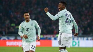Hanovre/Bayern Munich : Le superbe but de David Alaba pour le Bayern (VIDÉO)