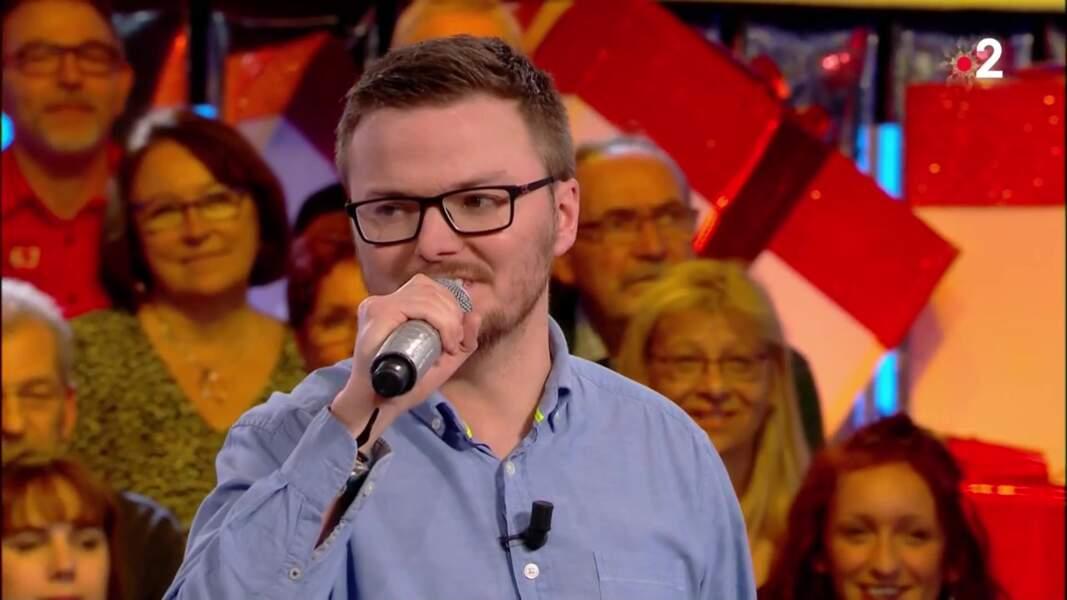 15. Renaud, 391 000 €, N'oubliez pas les paroles !, France 2 (2019)