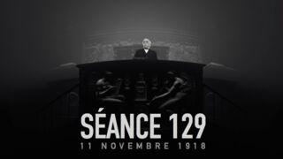 Réalité virtuelle : revivez l'émotion du discours de Georges Clémenceau après la signature de l'armistice le 11 novembre 1918