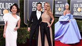 Golden Globes 2019 : Lady Gaga, Sandra Oh, Julia Roberts et Rami Malek... pluie de strass et de paillettes sur le tapis rouge (PHOTOS)