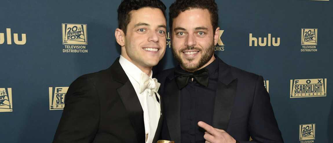 Rami Malek Son Frère Jumeau Sami Fait Sensation Aux Golden Globes