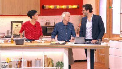 La Quotidienne : invité à cuisiner, Dave se moque des audiences de l'émission (VIDEO)
