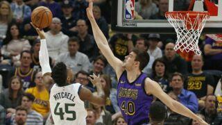 NBA : Donovan Mitchell claque un dunk monstrueux contre les Lakers, James Harden impressionne encore ! (VIDEO)