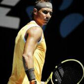Open d'Australie 2019 : Rafael Nadal hilare face à un journaliste endormi (VIDEO)
