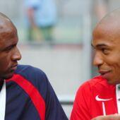 Ligue 1 : les retrouvailles chaleureuses entre Thierry Henry et Patrick Vieira avant Monaco/Nice (VIDEO)