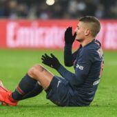 Ligue 1 : le PSG tremble pour Marco Verratti, victime d'une entorse de la cheville