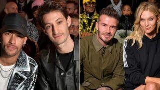Neymar pose avec Pierre Niney, Robert Pattinson plus séduisant que jamais… Défilé de stars à la Fashion Week (PHOTOS)