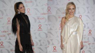 Dîner de la mode :  Iris Mittenaere et Pamela Anderson sublimes pour la bonne cause (PHOTOS)